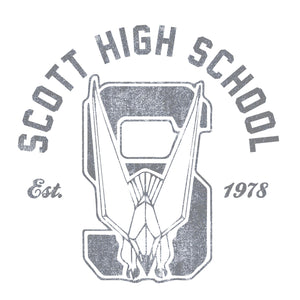 Retro Scott High School Logo | Youth Sizes