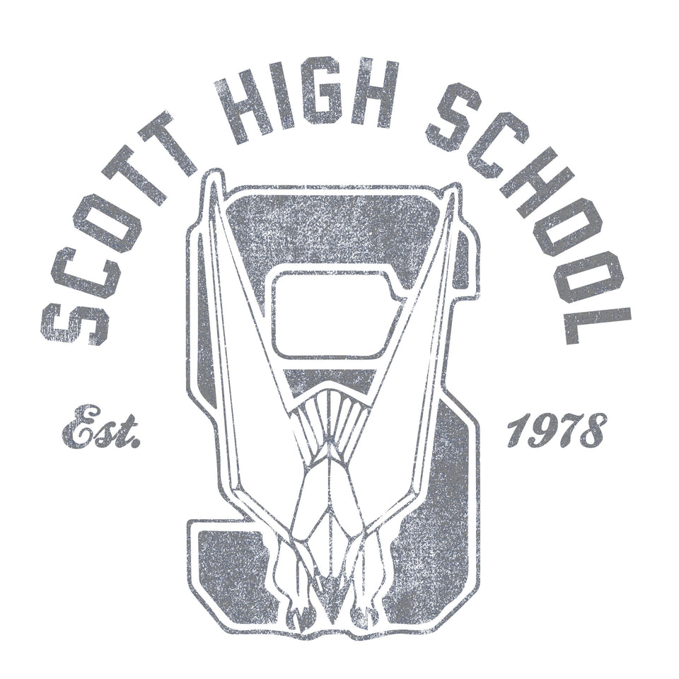 Retro Scott High School Logo - Cincy Shirts
