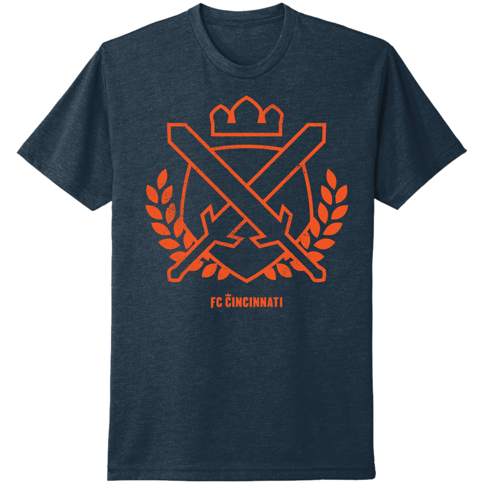 FC Cincinnati Sword Crown and Branches