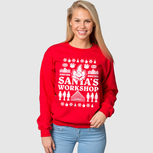 Shillito's Christmas Sweatshirt - Cincy Shirts