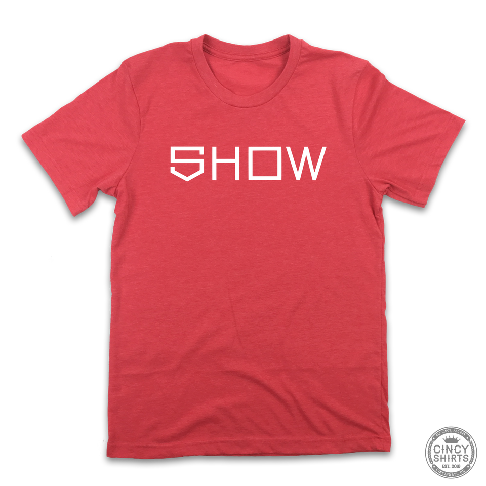 Show Bats - Show Type - Cincy Shirts