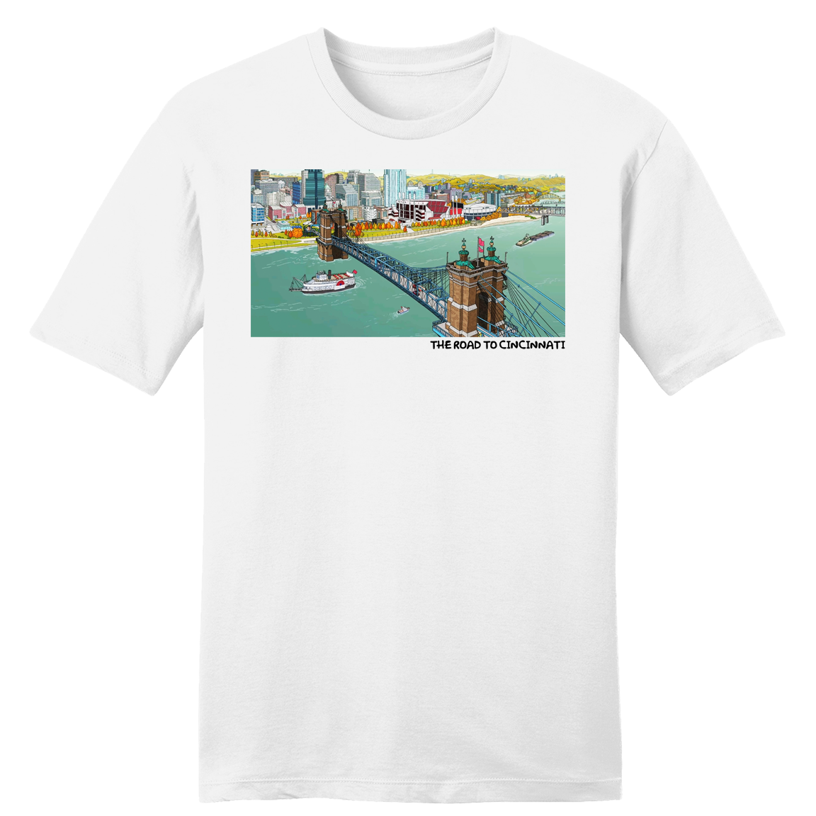 Simpsonati - The Road to Cincinnati - Cincy Shirts