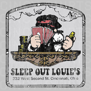 Sleep Out Louie's - Unisex T-Shirt - Cincy Shirts