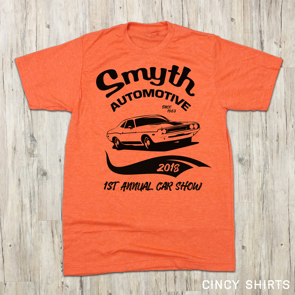 Smyth Automotive 1st Annual Car Show - Cincy Shirts
