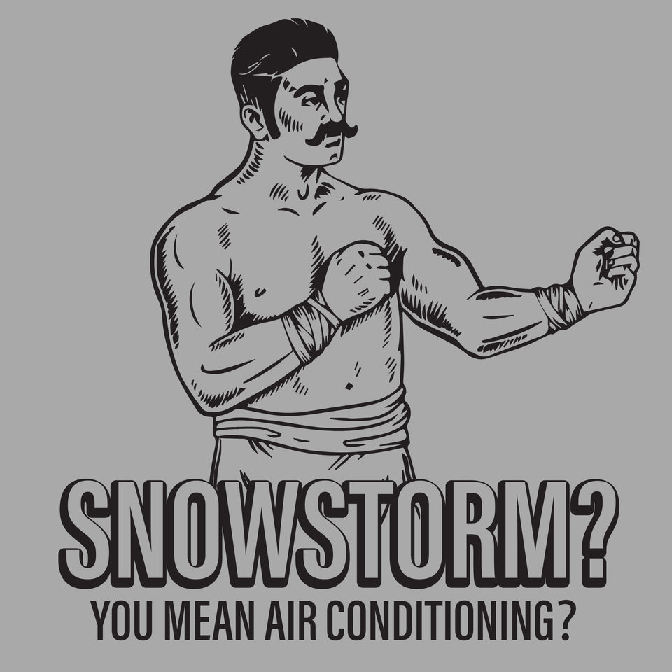 Snowstorm? You Mean Air Conditioning? - Cincy Shirts