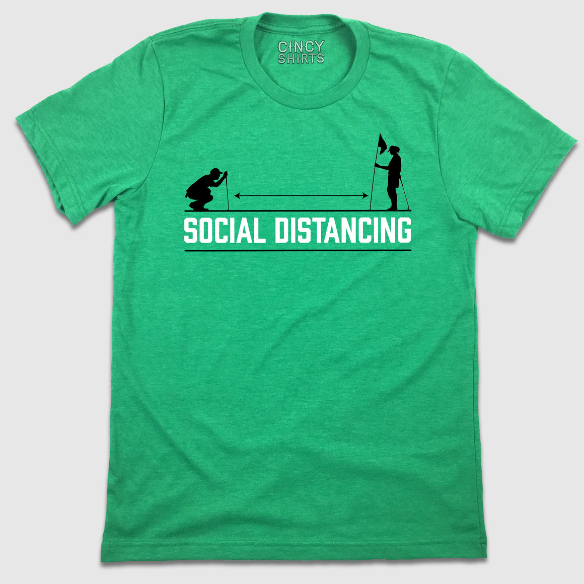 Social Distancing - Golf - Cincy Shirts