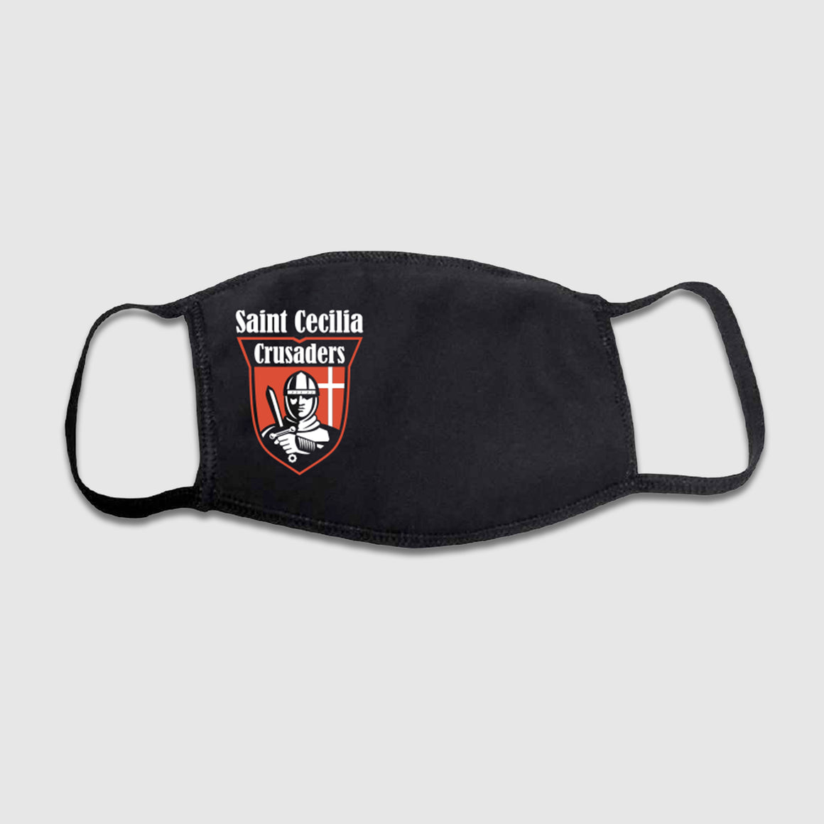Saint Cecilia Crusaders Face Mask - Cincy Shirts