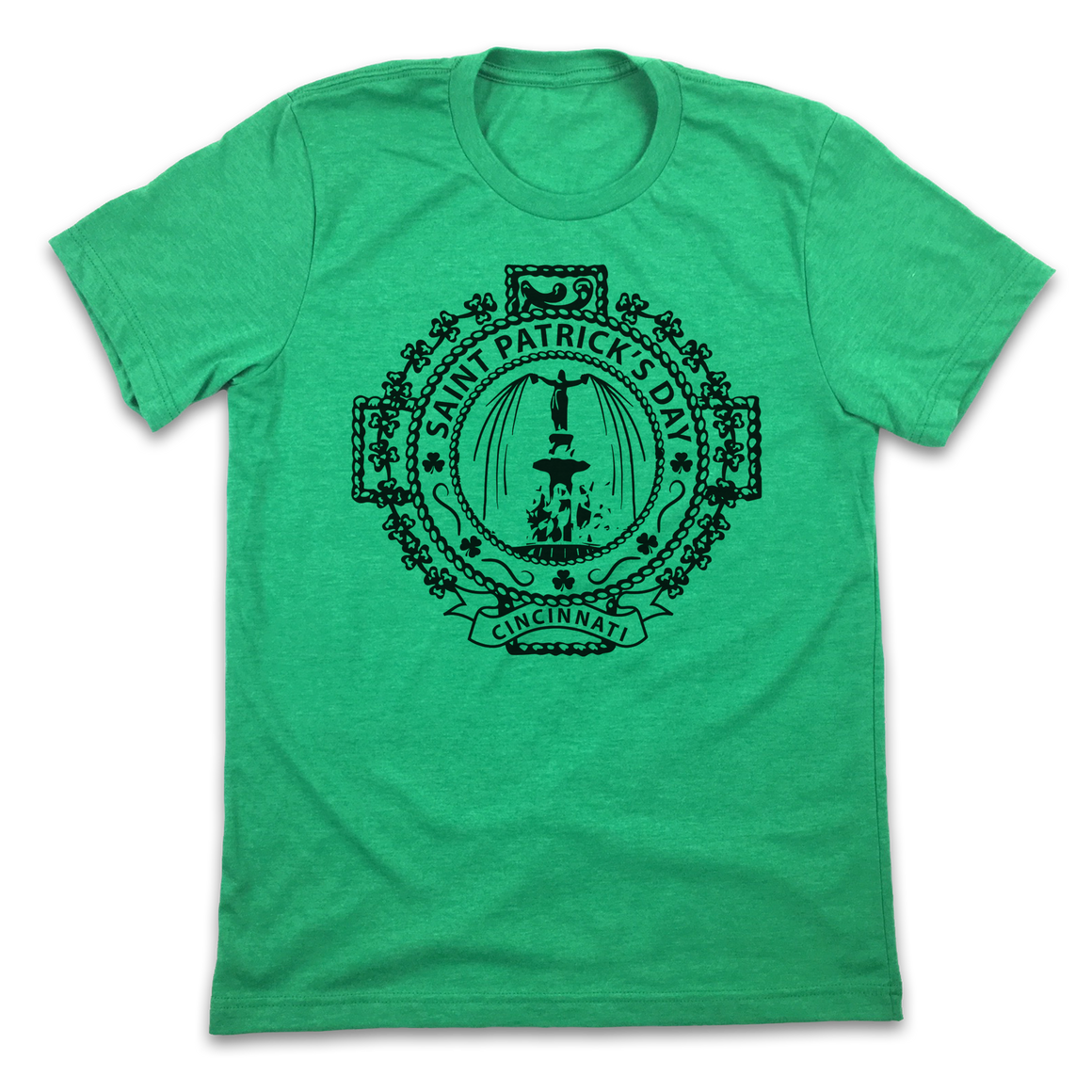 St. Patrick's Day Cincinnati Seal - Cincy Shirts