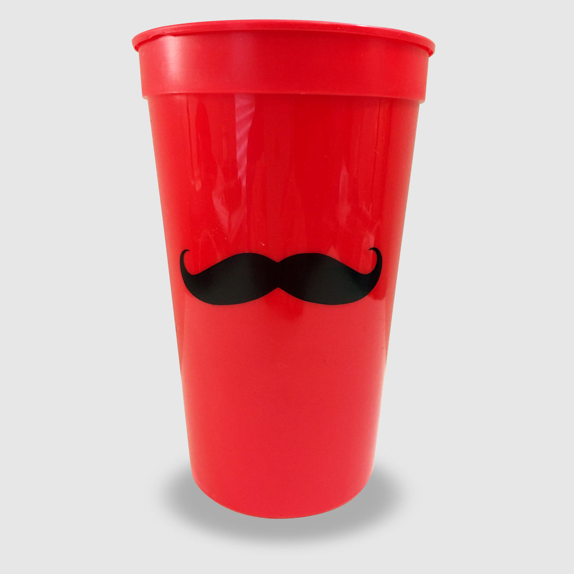 Mustache Red Stadium Cup - Cincy Shirts