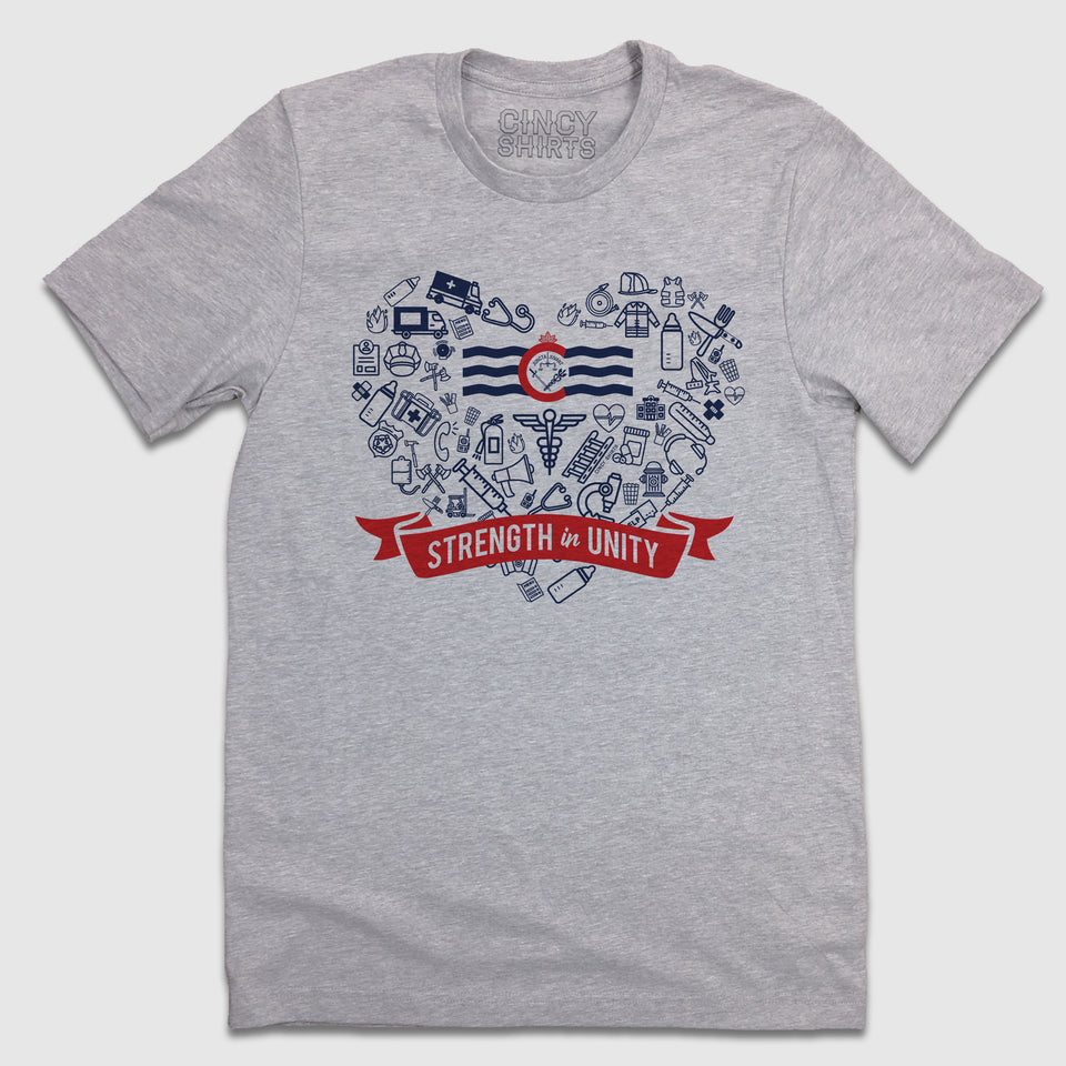 Strength in Unity - Cincy Shirts