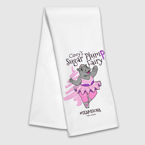 Sugar Plump Fairy Tea Towel - Cincy Shirts