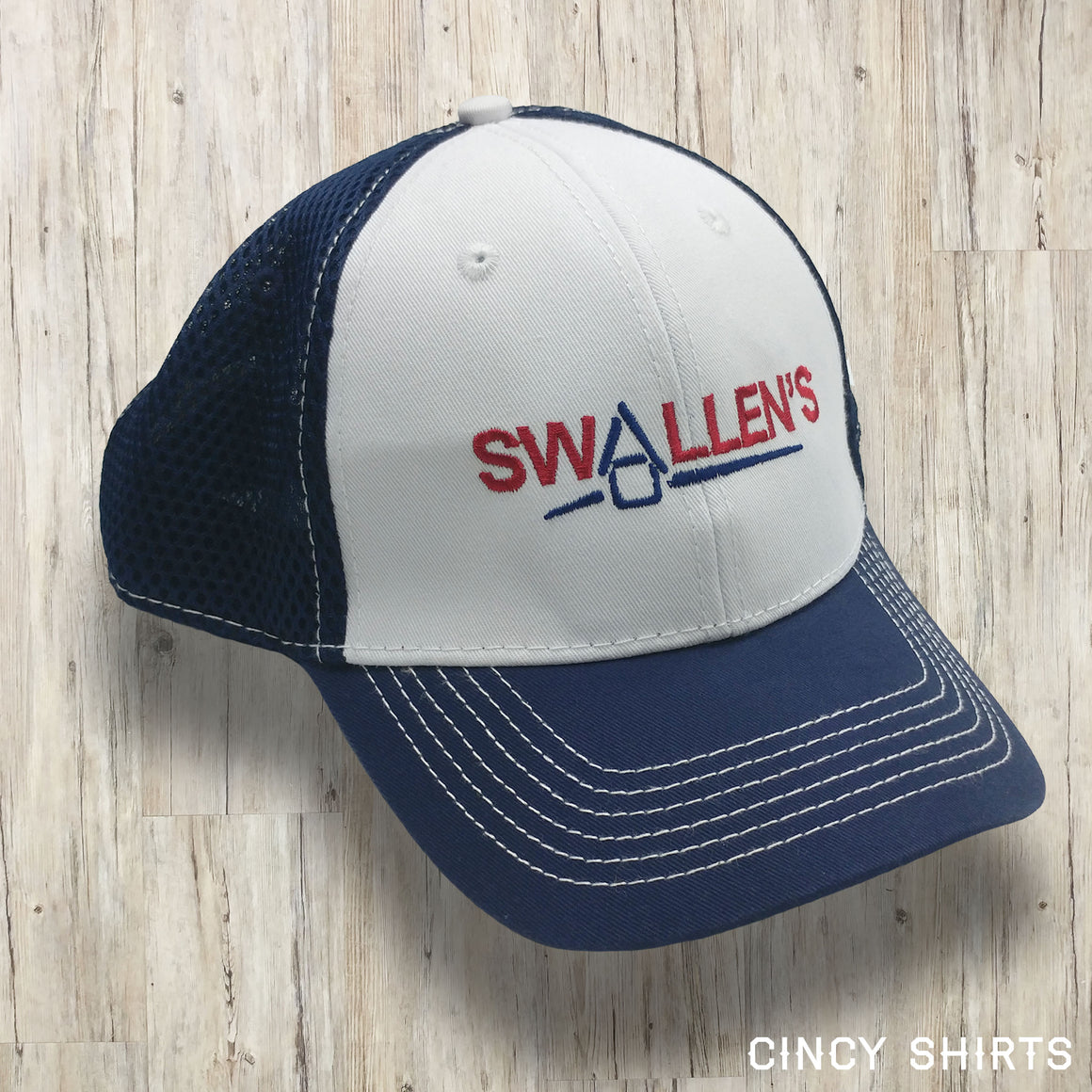 Swallen's Vintage Logo - Curved Bill Hat