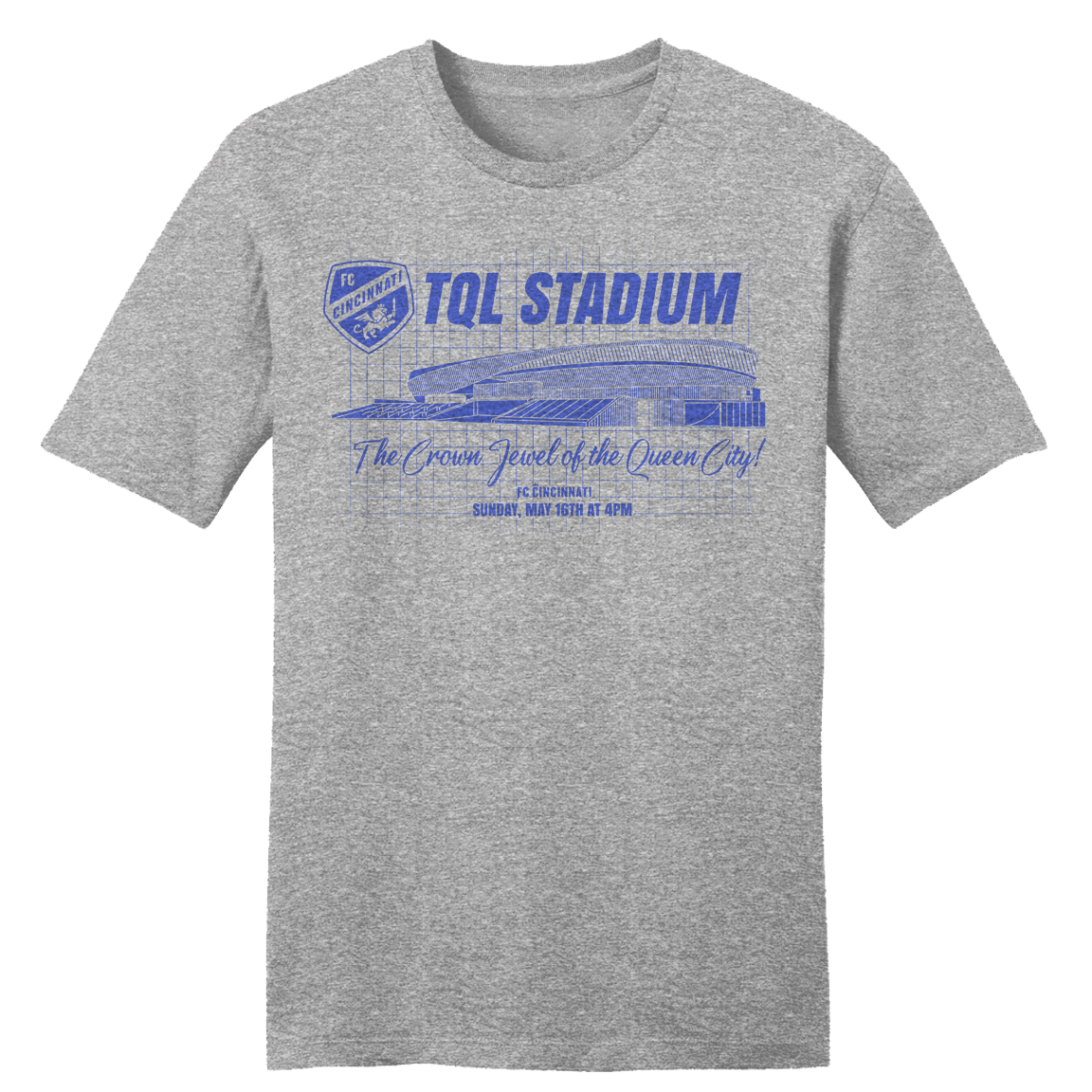 TQL Stadium Opening Match Tee - Cincy Shirts