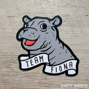 Team Fiona Car Magnet - Cincy Shirts