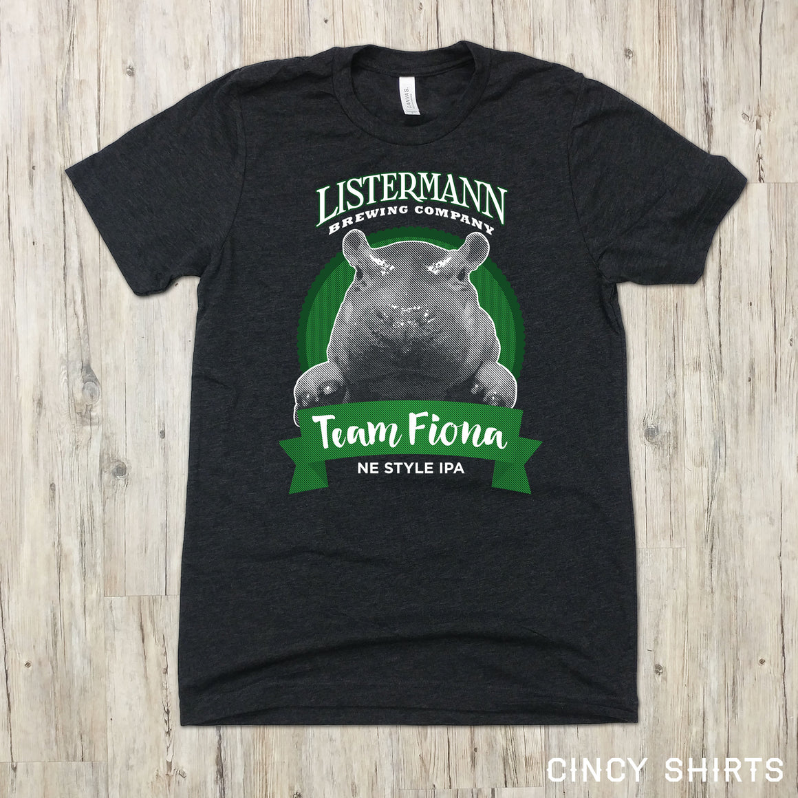 Listermann Brewing Team Fiona Beer Tee - Cincy Shirts