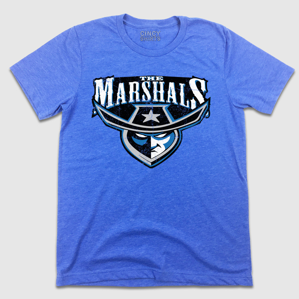 The Cincinnati Marshals indoor football team T-shirt