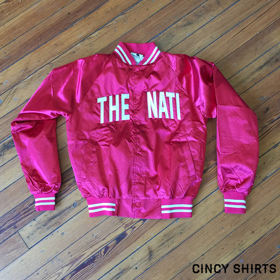 The Nati Satin Jacket
