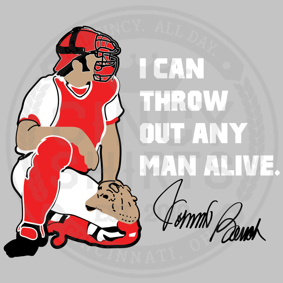 I Can Throw Out Any Man Alive - Cincy Shirts