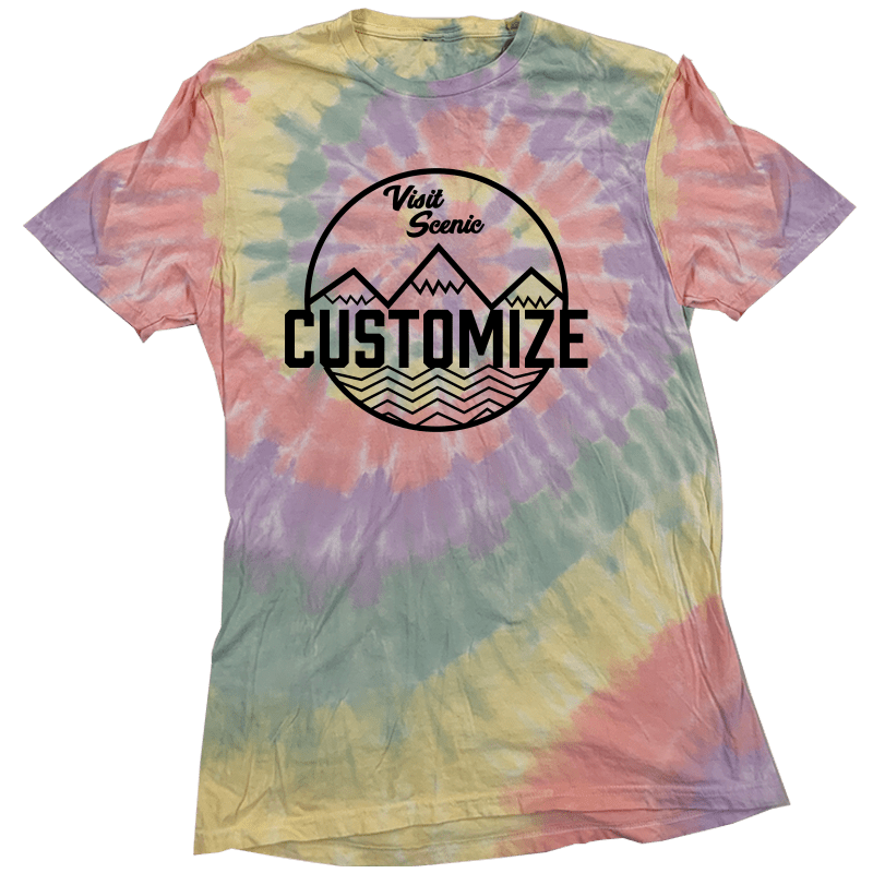 Visit Scenic Customize Tye Dye Tee - Cincy Shirts