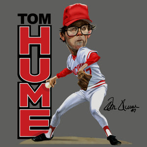 Tom Hume Caricature image full