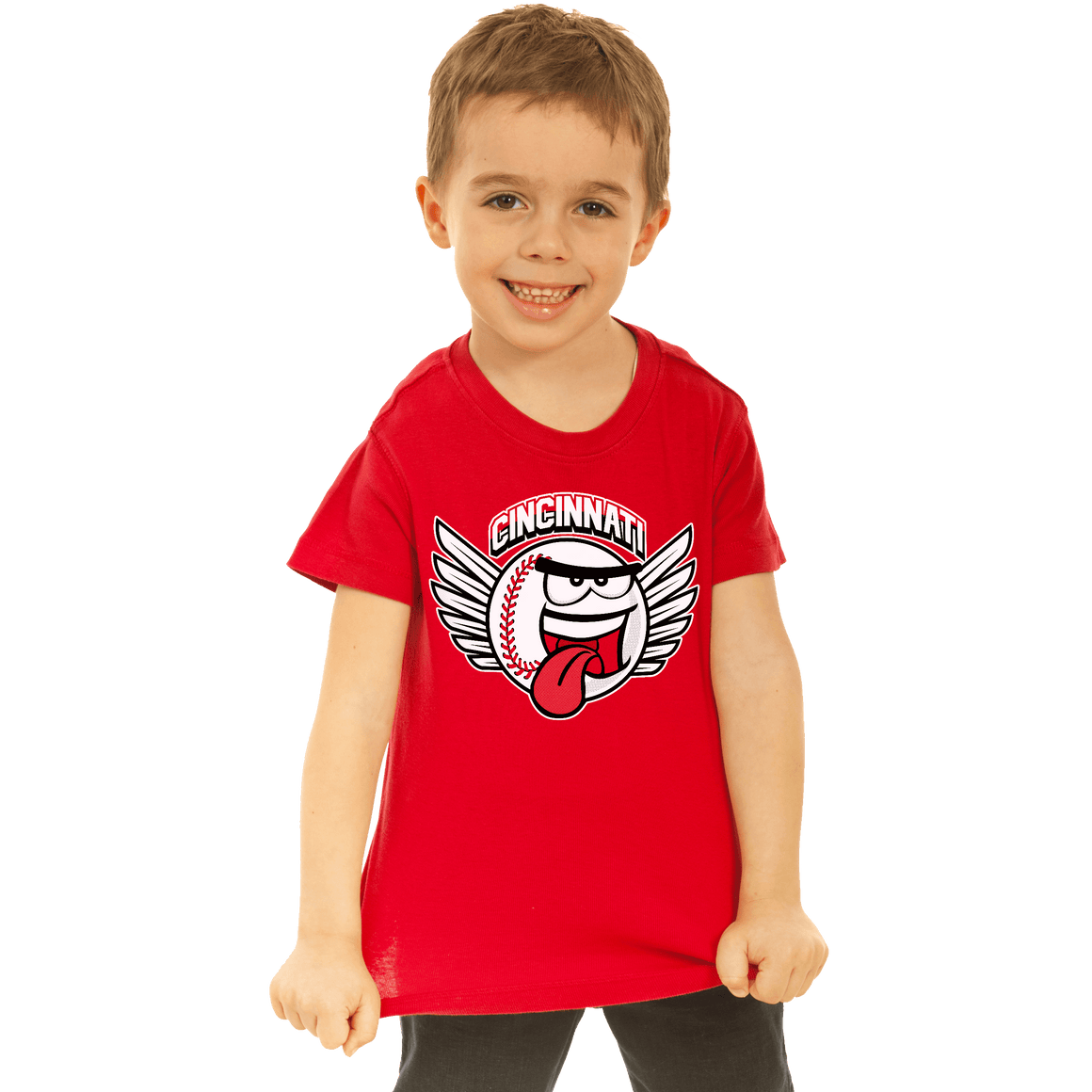 Baseball Tongue - Youth Sizes - Cincy Shirts