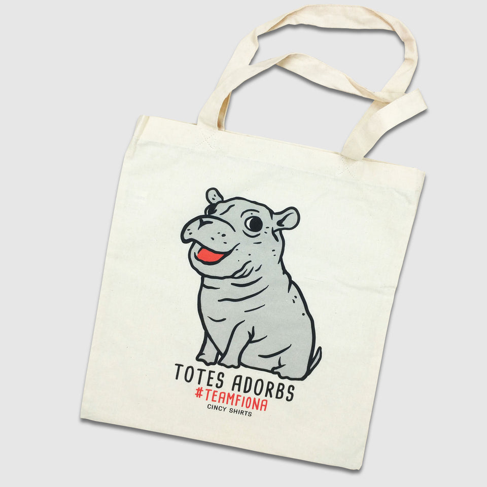 "Team Fiona ""Totes Adorbs"" Tote Bag"