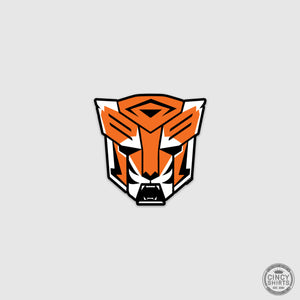 Robot Tiger Sticker