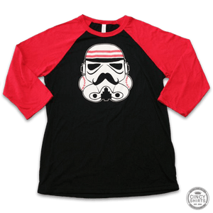 3/4 Sleeve Redlegs Trooper