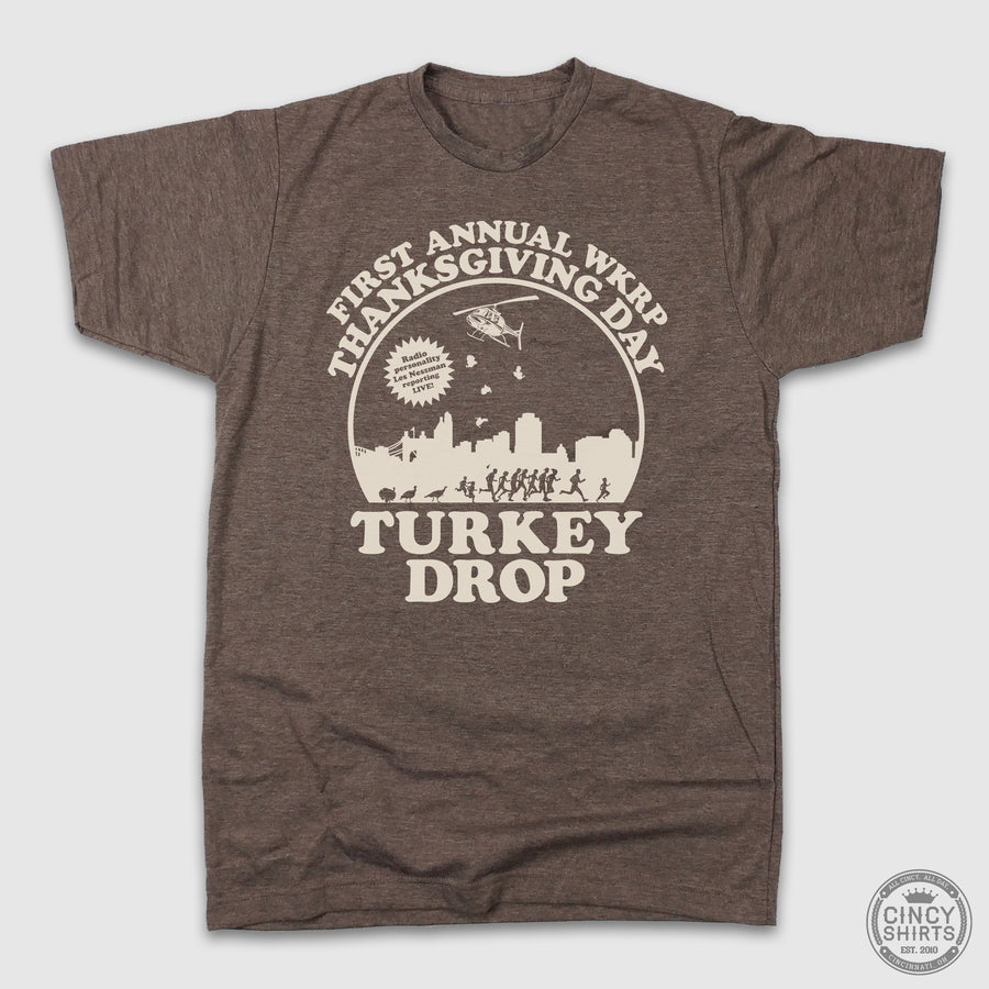 WKRP Turkey Drop - Cincy Shirts