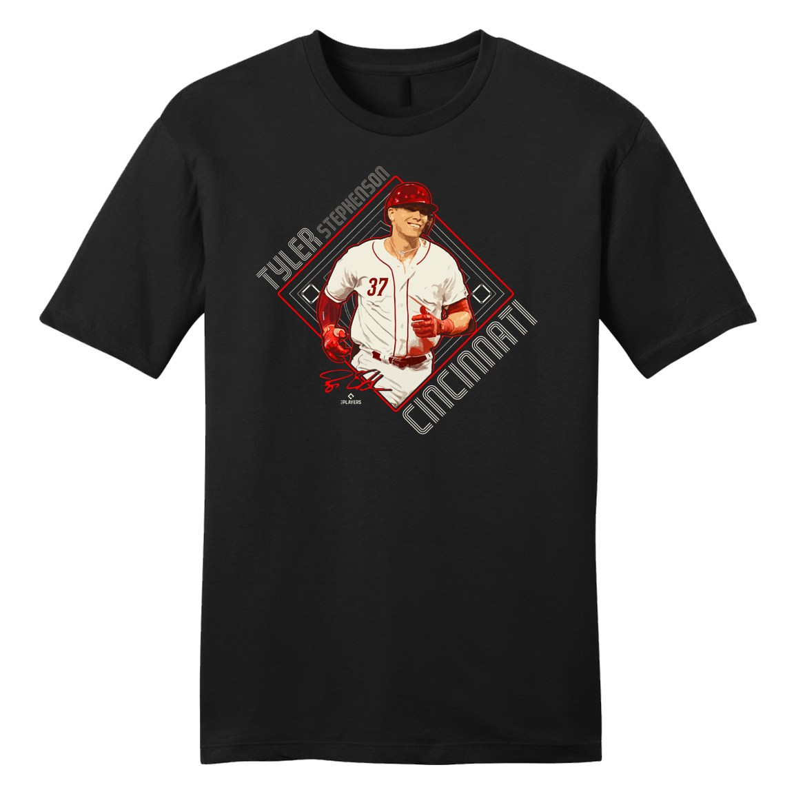 Official Tyler Stephenson MLBPA Tee