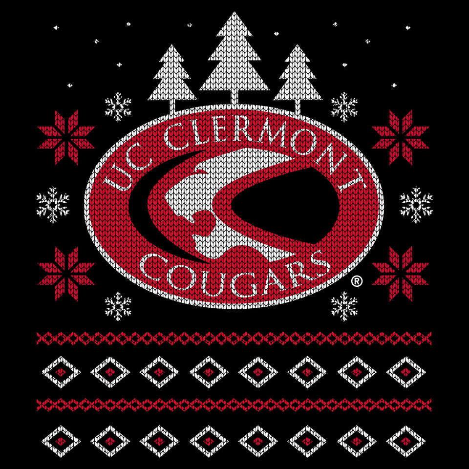 UC Clermont Ugly Christmas Sweatshirt - Cincy Shirts
