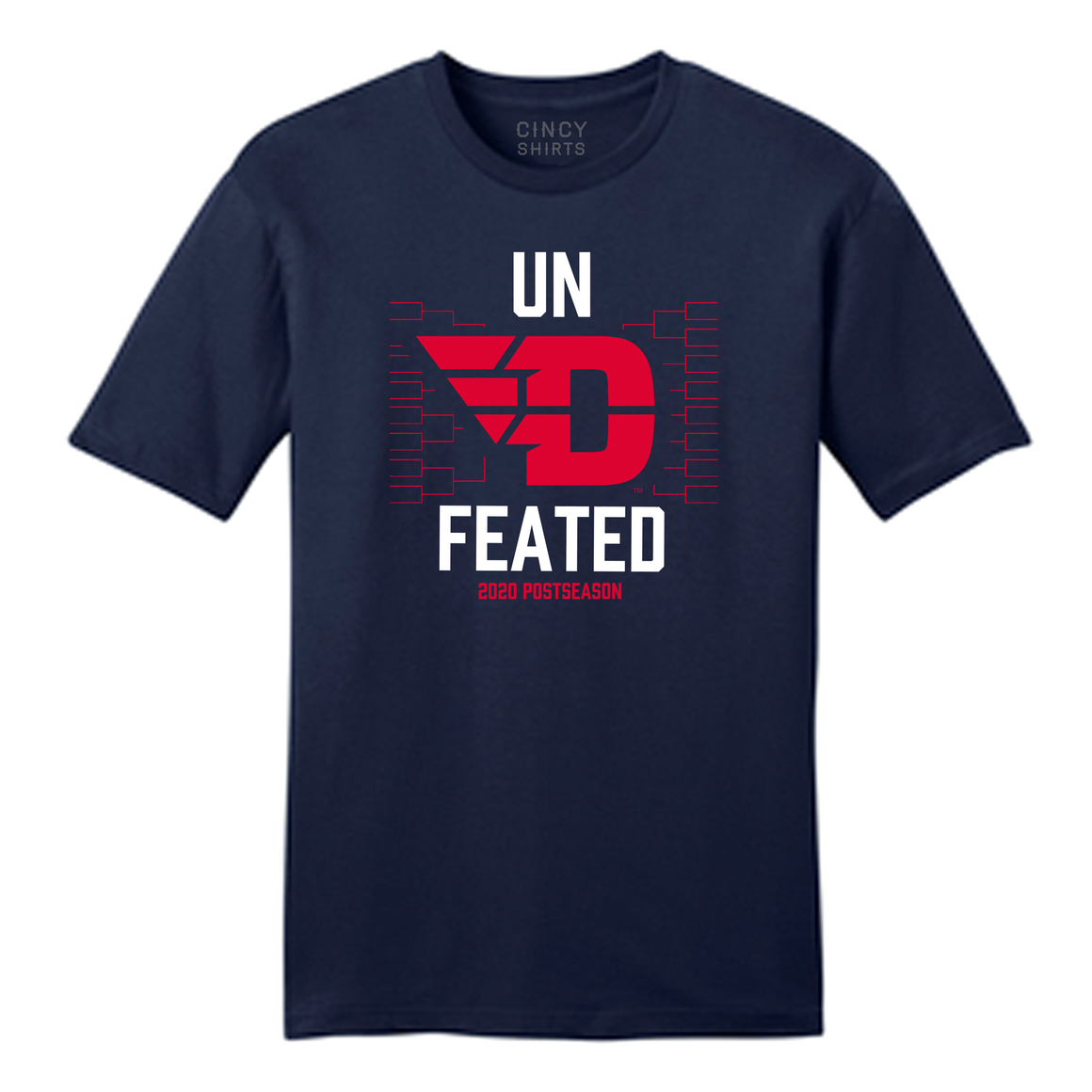 "UN""D""FEATED Dayton Flyers Basketball - Cincy Shirts"