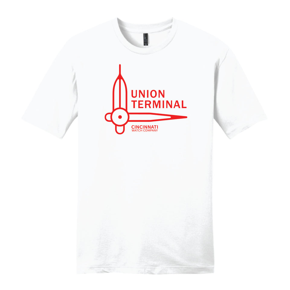 Union Terminal Watch Hands Cincinnati Watch Company - Cincy Shirts