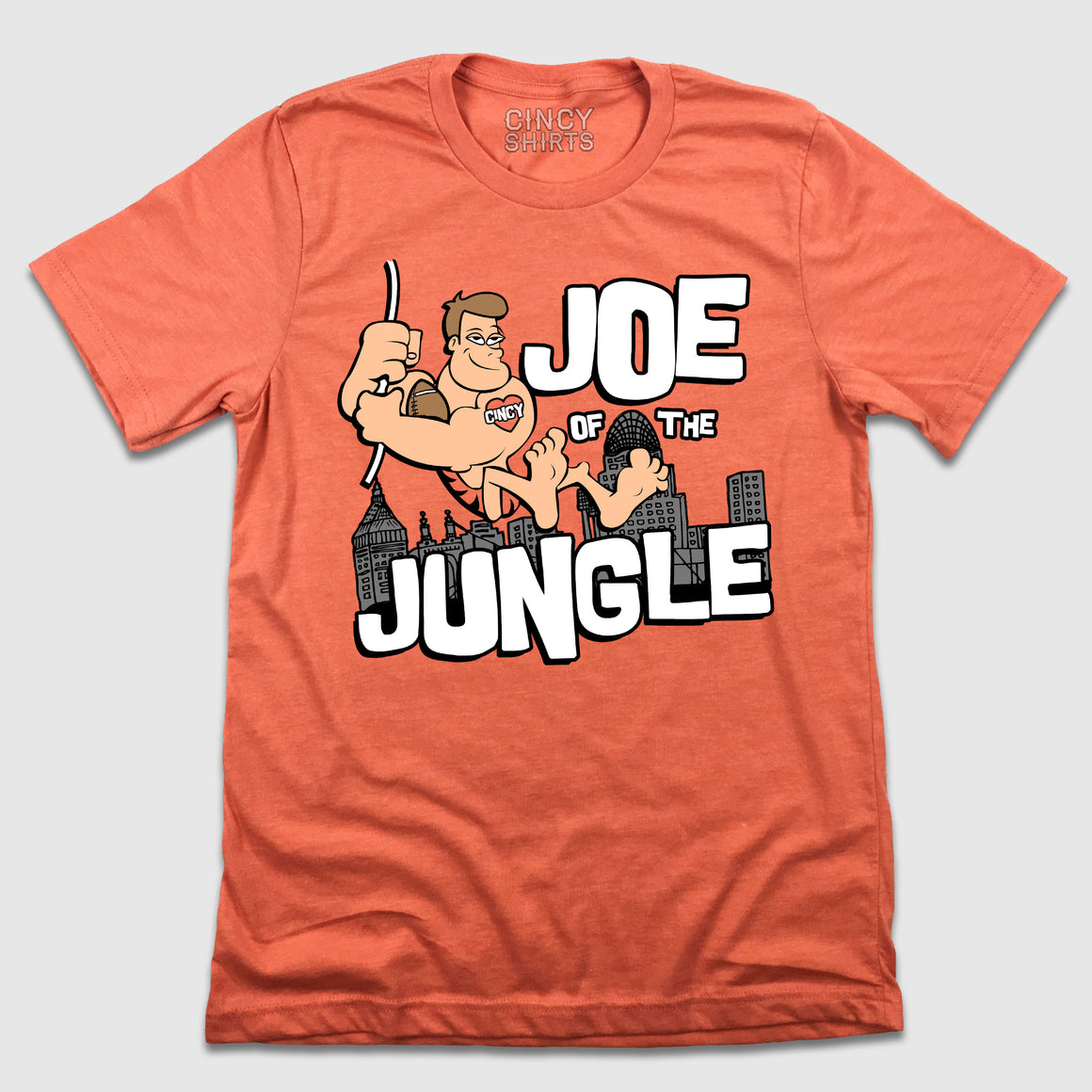 Joe Of The Jungle - Cincy Shirts