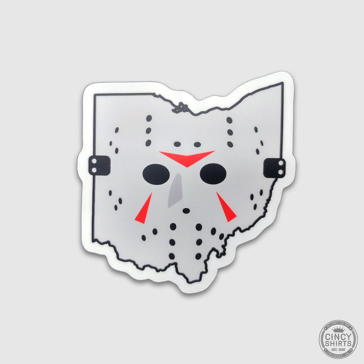 Camp Killer Ohio Sticker - Cincy Shirts