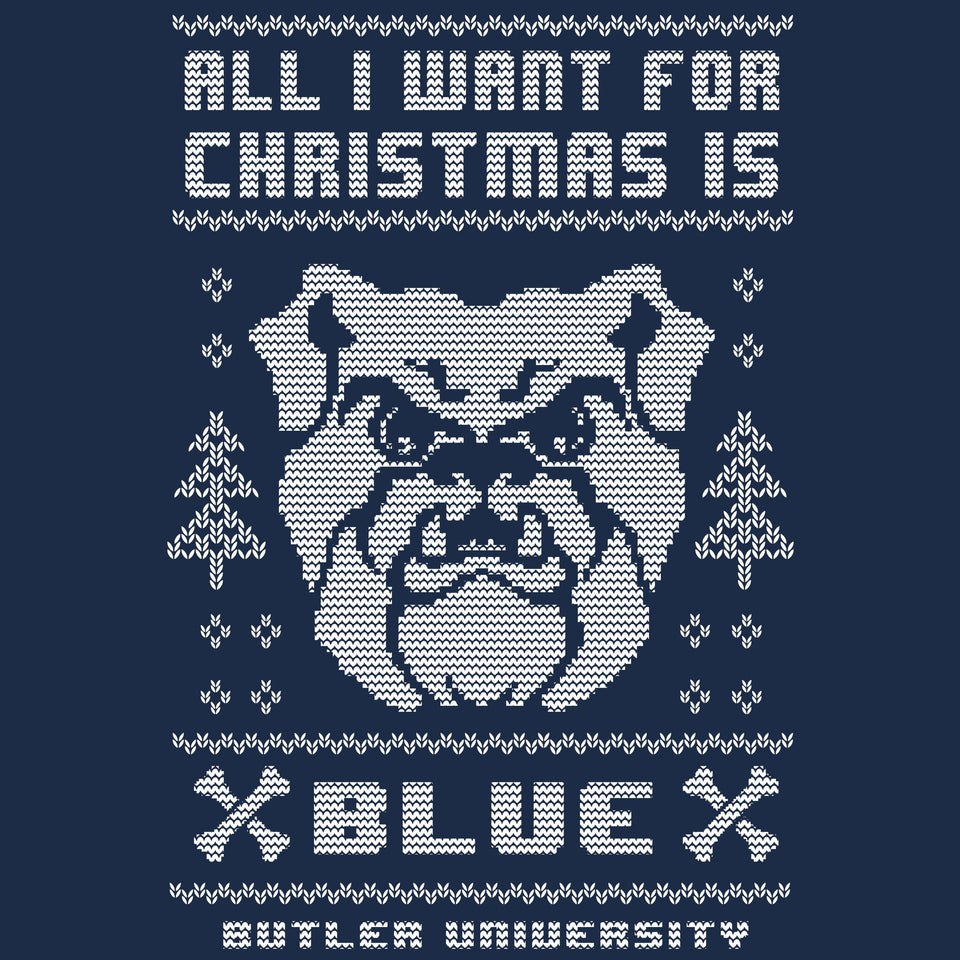 Butler Bulldogs Christmas Sweatshirt - Cincy Shirts