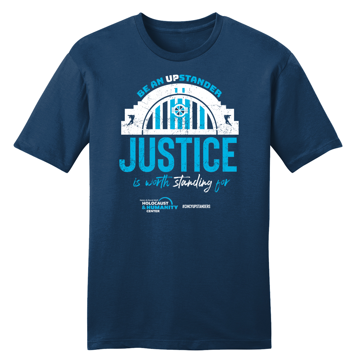 Justice #CincyUpstanders T-shirt