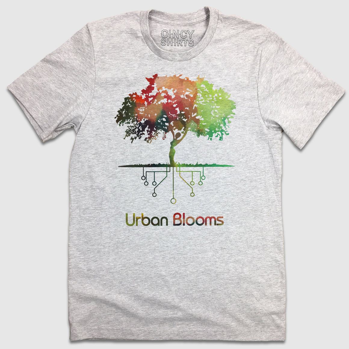 Urban Blooms - Cincy Shirts
