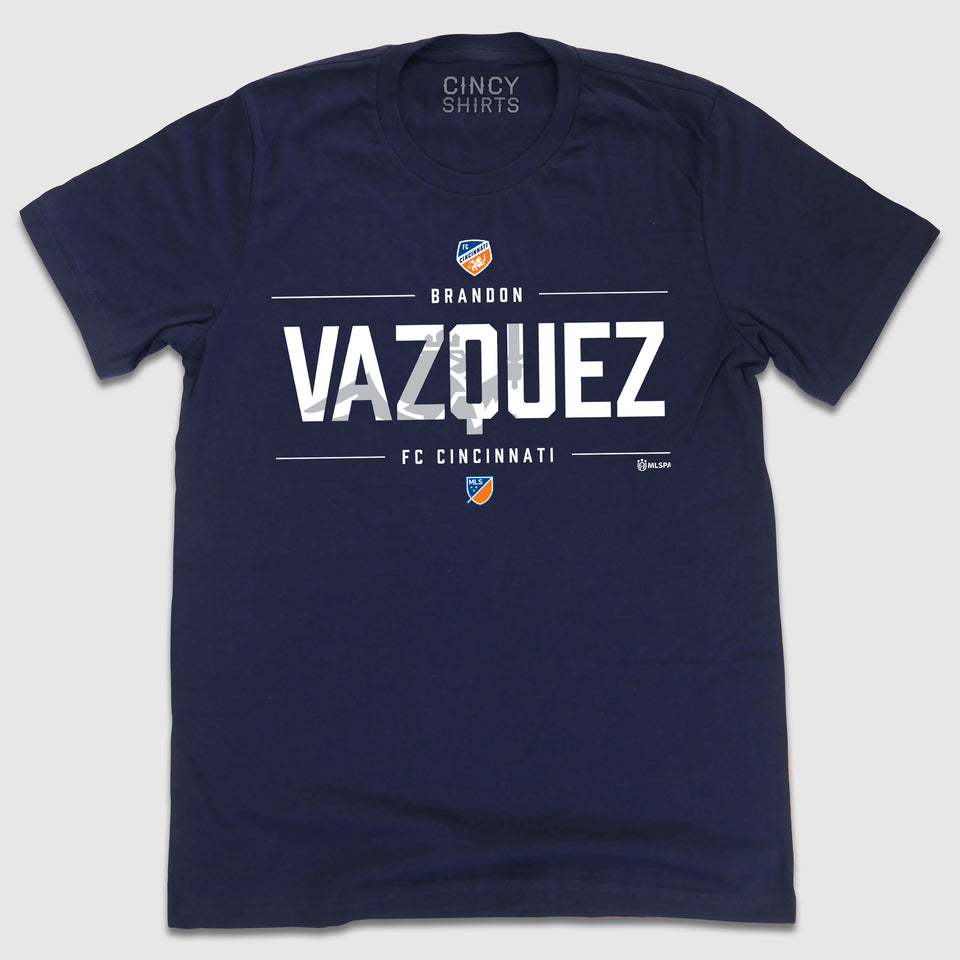 Official Brandon Vazquez MLSPA Designer Tee - Cincy Shirts