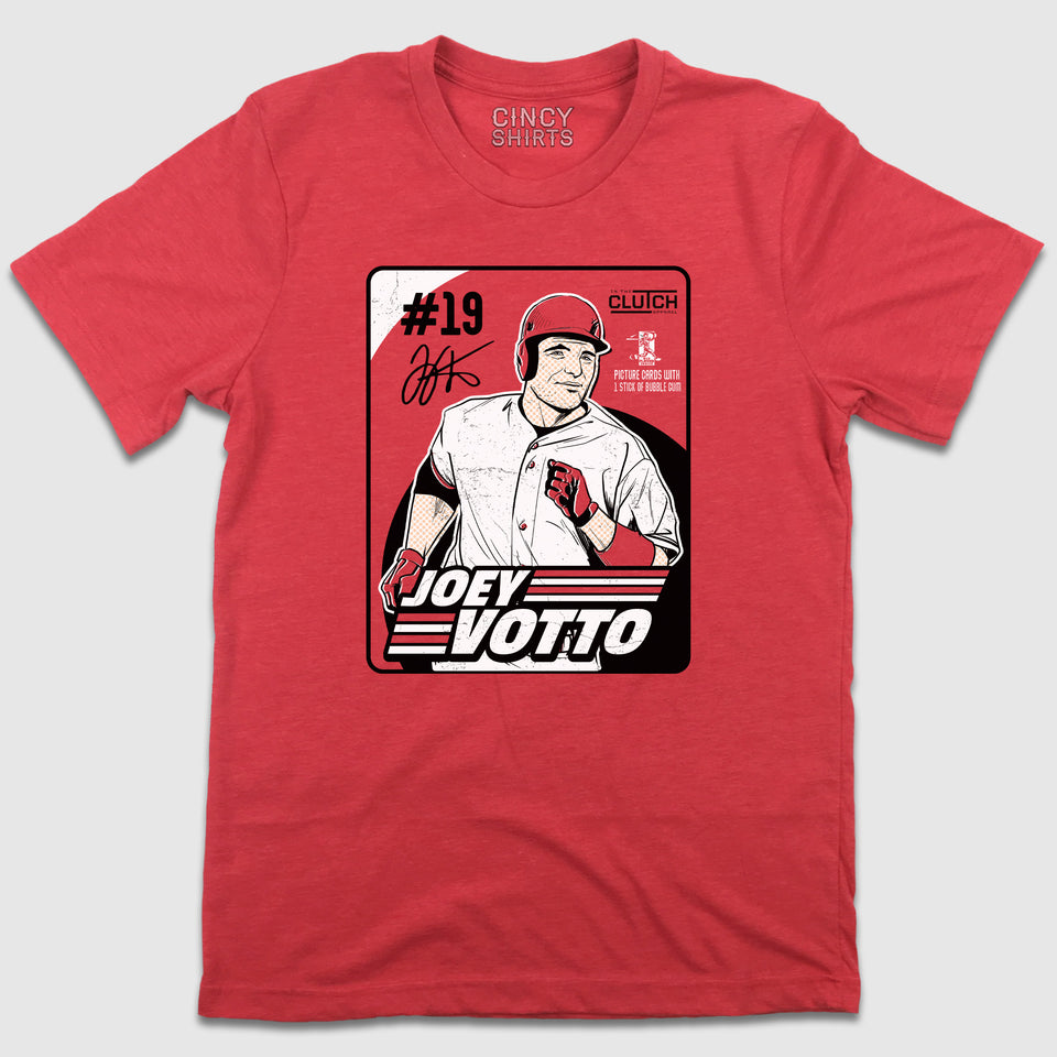 Vintage Joey Votto Bubblegum Baseball Card - Cincy Shirts