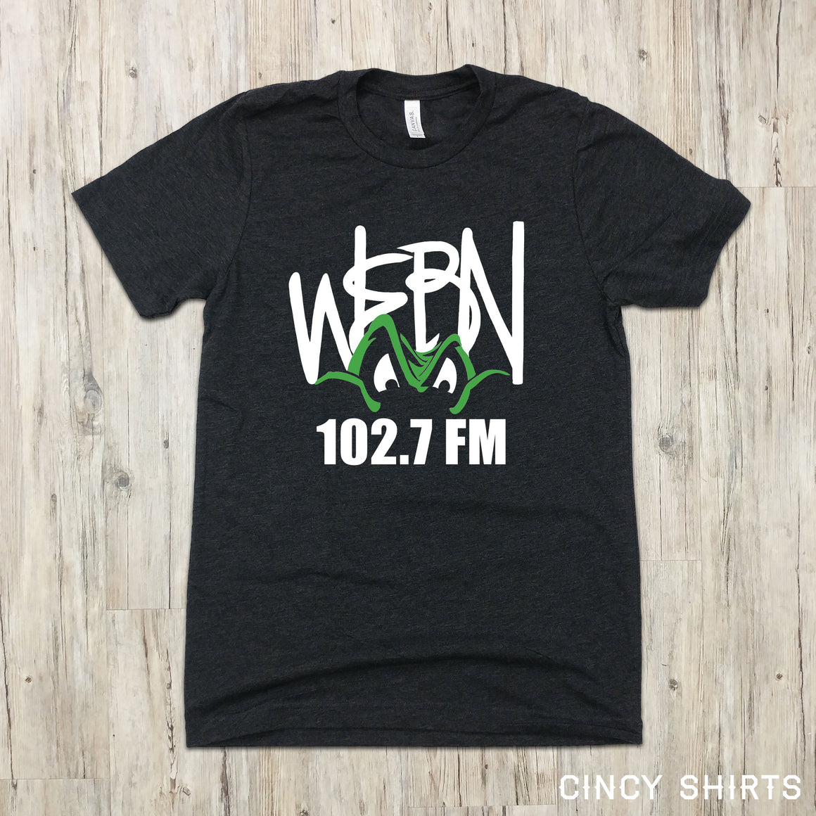 WEBN 102.7 Frog Logo - Cincy Shirts