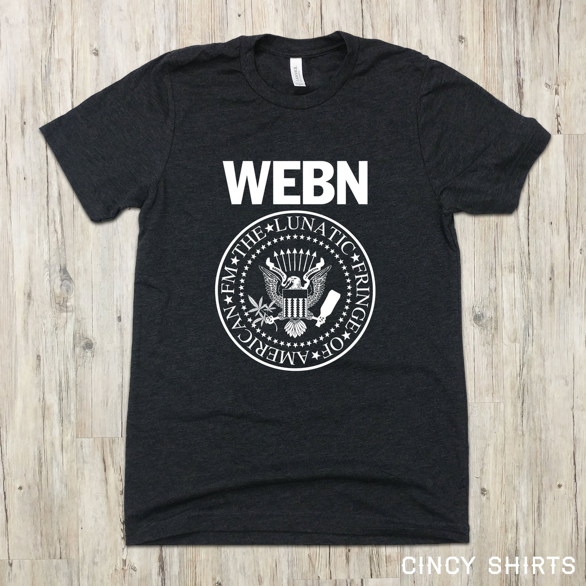 WEBN Ramones - Cincy Shirts