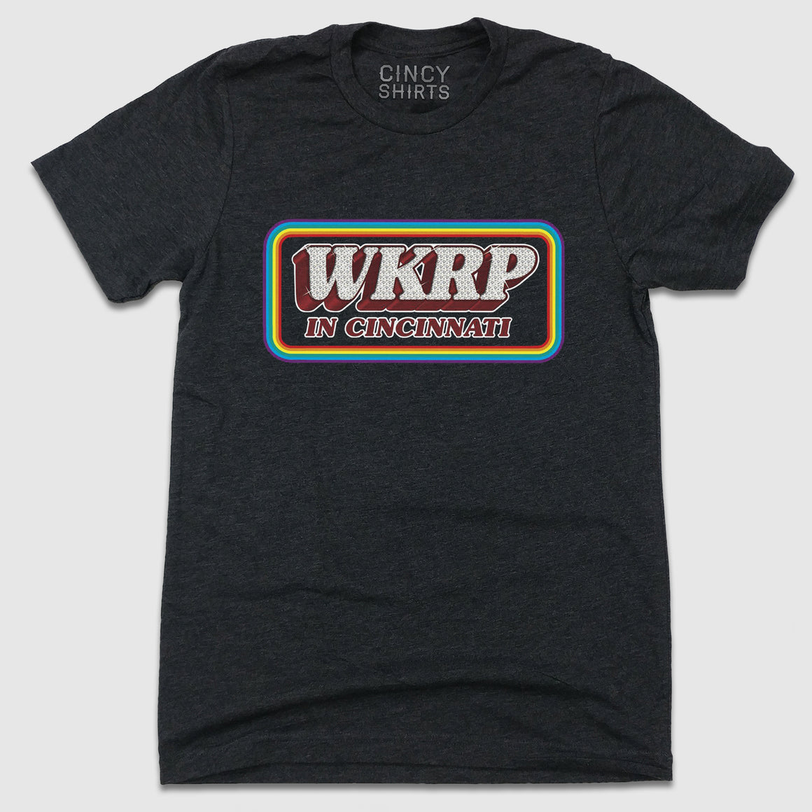WKRP in Cincinnati Logo - Cincy Shirts