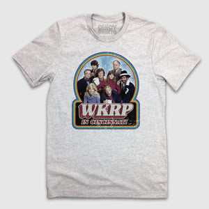 WKRP Full Color Cast Logo - Cincy Shirts