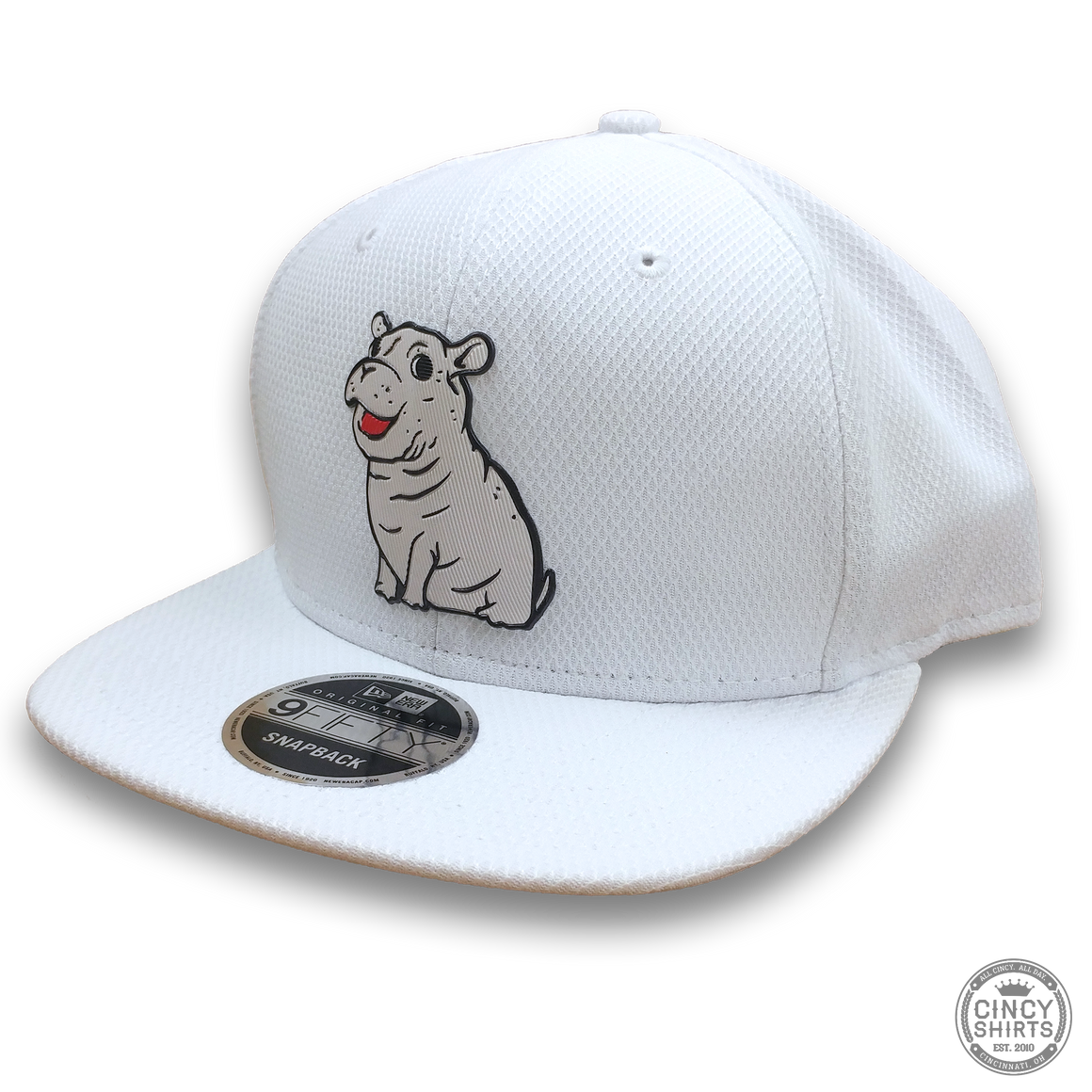 Fiona White Snapback Hat - Cincy Shirts