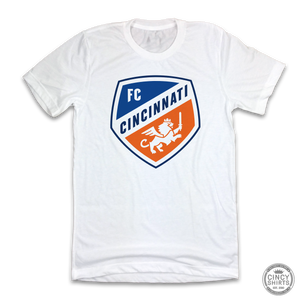FC Cincinnati Shield Logo - White Out Edition