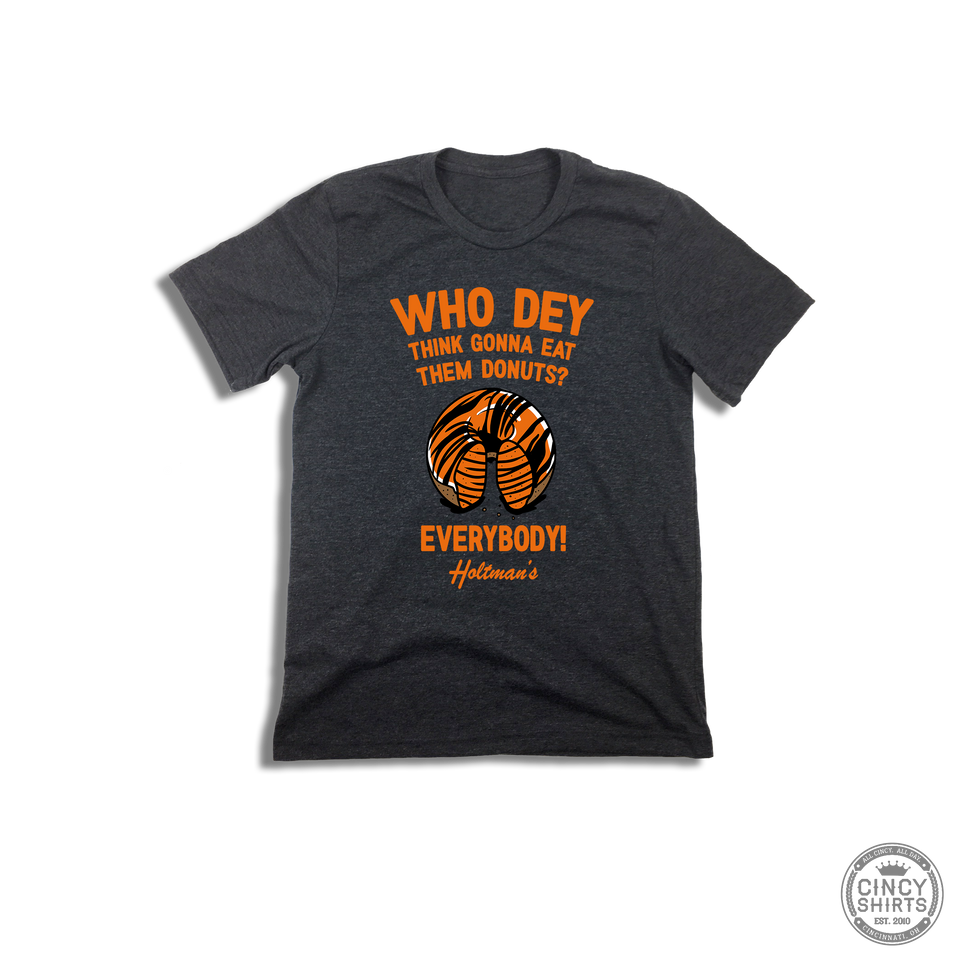 Holtman's Who Dey Donuts - Youth Sizes - Cincy Shirts