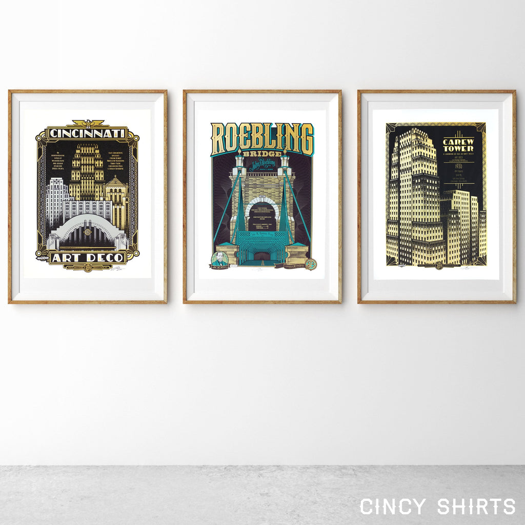 Carew Tower - Limited Edition Print in Art Deco collection