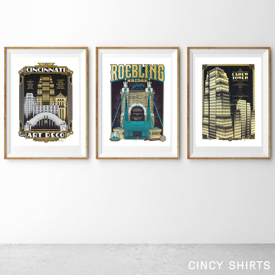 Carew Tower - Limited Edition Print - Cincy Shirts