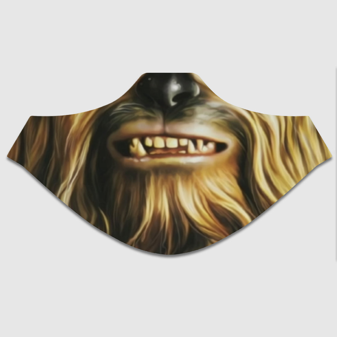 Wookie Star Fighter Pilot Sublimated Face Mask